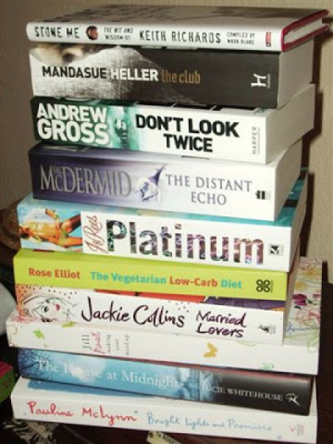 A Glimpse At Bernardine Kennedy's To Be Read Pile