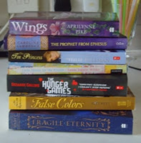 Imogen Howson – A Holiday TBR Pile