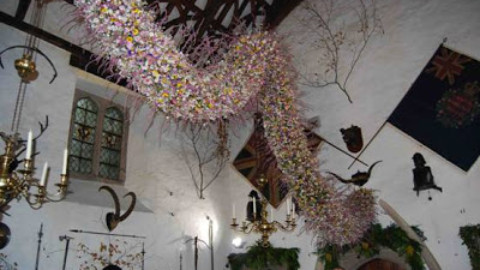 Carol Townend Brings Us a Glimpse of Christmas at Cotehele
