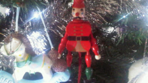 On The Ninth Day of Christmas – Tamsyn Murray Adds  A Toy Soldier To The Tree