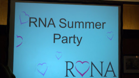 The RNA Summer Party and the Romantic Novel of the Year
