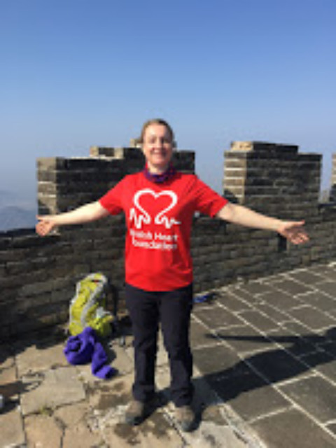 Rachael Thomas: Trekking along The Great Wall of China