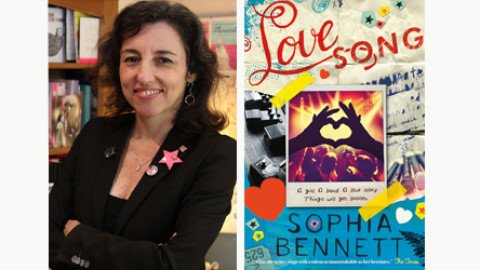 Sophia Bennett's Love Song wins The Goldsboro Books Romantic Novel of the Year 2017