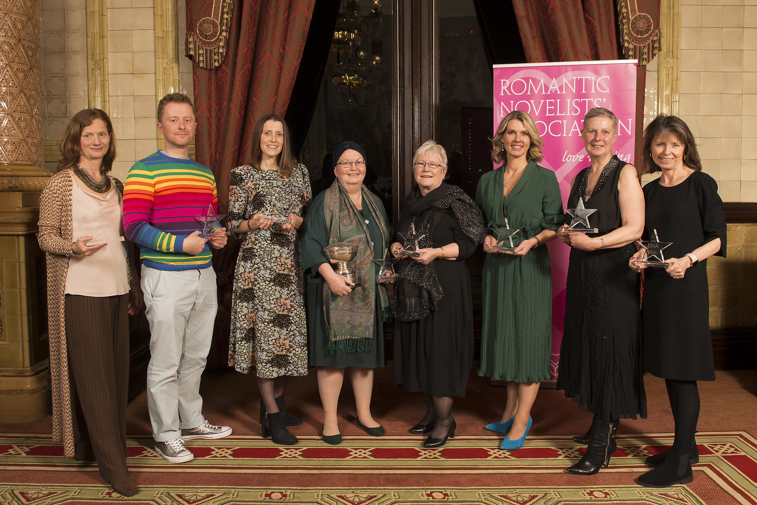 Romantic Novel Awards - Winners Announced - RNA