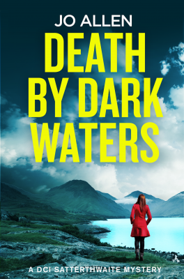 The cover of Death By Dark Waters.