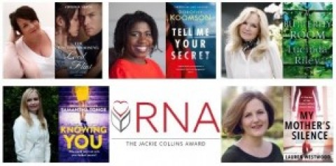 Meet the Contenders for The Jackie Collins Romantic Thriller Award 2020