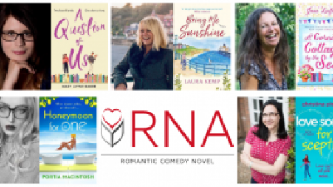 Meet the Contenders for The Books and the City Romantic Comedy Novel Award 2020
