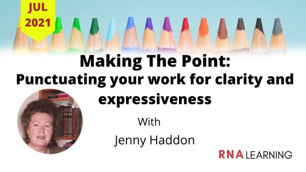 Making The Point - July 2021- Jenny Haddon