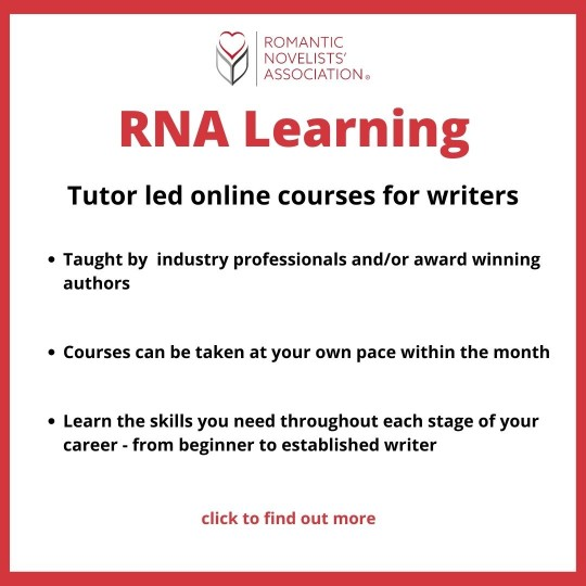 RNA Learning - Tutor led online courses for writers. Click to find out more.