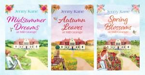 Jenny Kane - Spring Blossoms at Mill Grange