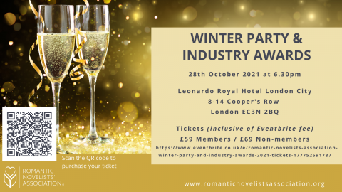 The Romantic Novelists' Association Winter Party and Industry Awards 2021