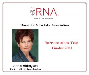 RNA Industry Awards: Narrator of the Year